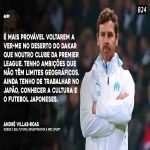 André Villas Boas says he wants to manage in Japan
