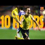 10 hours of INIESTA's goal vs Chelsea (2009)