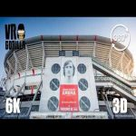 Johan Cruijff Arena Stadium Tour in 360 VR (6K 3D Video) English Subtitles