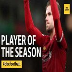 Liverpool captain Jordan Henderson is voted BBC Sport's Premier League Player of the Season