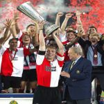 on this day in 2002 Feyenoord beat Borussia Dortmund 3-2 in De Kuip to win the UEFA Cup