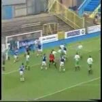 21 years ago Jimmy Glass (goalkeeper) scored a last minute goal to help Carlisle avoid relegation
