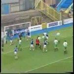 21 years ago Jimmy Glass (goalkeeper) scored a last minute goal to help Carlisle avoid relegation