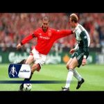 From this day in 1996, Eric Cantona's FA Cup Final winning volley
