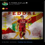 Moroccan Real Betis central defender Zou Feddal might have just leaked that he is joining Liverpool on his Twitter
