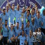 On this day 1 year ago, Manchester City won their 14th game in a row to win the league.
