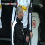 Eintracht Frankfurt 0-3 Borussia Mönchengladbach - Ramy Bensebaini PK 73'
