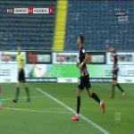 Eintracht Frankfurt [1]-3 Borussia Mönchengladbach - André Silva 81'