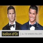Ballon d'Or Winners || 1956-2019