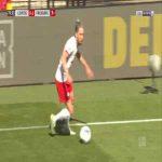 RB Leipzig [1]-1 Freiburg - Yussuf Poulsen 77'