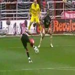 Beach ball goal against Liverpool