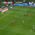 Bremen 1-[3] Leverkusen - Mitchell Weiser 61'