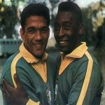 On this day in 1958, Pelé and Garrincha played together for the first time, to never face any defeat (36W, 4D, 55 GS)