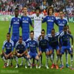 The Chelsea starting 11 that won the 11/12 Champions league final against Bayern Munich on penalties on this day(May 19)