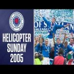 15 years ago today, Rangers won the league in dramatic circumstances in what became known as Helicopter Sunday.