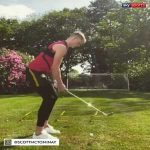 Scott McTominay taking the crossbar challenge to new levels... ⛳️