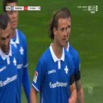 Darmstadt 2-0 St. Pauli - Yannick Stark 74'