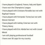 I have played in england france italy and spain riddle