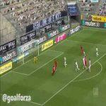 Nico Elvedi goalline block on Demirbay's shot