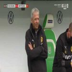 Wolfsburg 0-1 Borussia Dortmund - Raphaël Guerreiro 32'