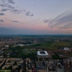 Ghencea Stadium in Bucharest - should have been finished in time for Euro2020 (used as training pitch)