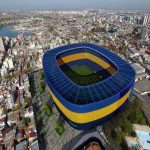 On the 80th birthday of the Bombonera, the official Boca Juniors Twitter posts a pic of the Bombonera 360 project.