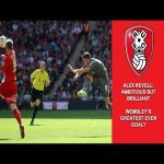 On this day in 2014, Alex Revell scores this wonderstrike to even the score in the play off finals. Rotherham would eventually go on to win on penalties.