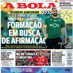 Abola: Milan's deal with Benfica over Florentino Luís has stalled. It has been delayed until the end of the season and Florentino wants to continue playing at Benfica.