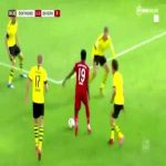 Davies dribbling past 4 Dortmund players
