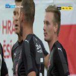 FK Mladá Boleslav 0-1 Slavia Praha - Petr Ševčík 22'
