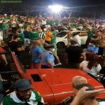 Floriana F.C. supporters in Malta flock to the streets as the Maltese Fqootball Association assign the country's top league to the club, violating social distancing regulations