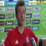 """Müller says Davies go """"meep meep"""""""