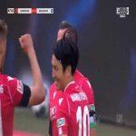 Hannover 1-0 Karlsruhe - Edgar Prib 47'