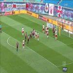 Leipzig 0-1 Hertha Berlin - Grujić 8'