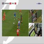 Sebastiaan Bornauw (FC Köln) straight red card against Hoffenheim 24'