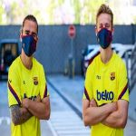 FC Barcelona have released their own face masks for €18.