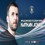 Luton Town have reappointed Nathan Jones