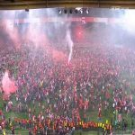 One year ago today, Union Berlin secured their first-ever promotion to the Bundesliga. The scenes when their promotion was secured is incredible