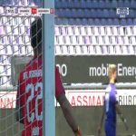 Osnabrück 0-1 Jahn Regensburg - Sebastian Stolze 8'