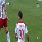 [Ekstraklasaboners] Adam Ratajczyk (ŁKS Łódź) open goal miss vs. Górnik Zabrze (28', Polish Ekstraklasa)