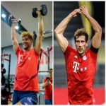 FC Bayern's Leon Goretzka, scary 5-month transformation.