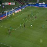 Bremen 0-1 Frankfurt - André Silva 61'