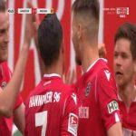 Hannover 3-0 Dynamo Dresden - Edgar Prib 45+1'