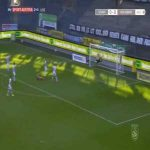 Sturm Graz 0-1 Wolfsberg - Shon Weissman 44' bicycle kick (Austrian Bundesliga)