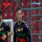 GKS Tychy [1]-1 Zagłębie Sosnowiec - Łukasz Moneta 90+3' (Polish I liga)