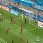 Bayer Leverkusen 1-4 Bayern Munich: Robert Lewandowski goal