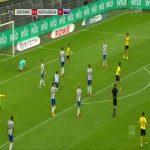Borussia Dortmund 1-0 Hertha Berlin: Emre Can goal