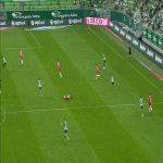 Ferencváros [2]-0 DVTK - Zubkov 55' (Nice Goal)