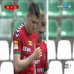Zagłębie Sosnowiec 1-0 Stomil Olsztyn - Filip Karbowy 36' great goal (Polish I liga)