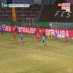 Saarbrücken 0-3 Bayer Leverkusen - Karim Bellarabi 58'